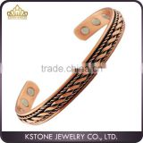 KSTONE Pure Copper Magnetic Bracelet, Arthritis Pain Relief Aid for Men or Women