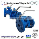 China Professional Manufacturer Hot Sale, PN16 Cast Iron, Water, Gas & Oil Control, Flanged End Ball Valve