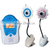 flower video baby monitor with night vision