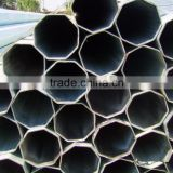 wholesale galvanized / zinc coating made in china solar PV bracket octagonal steel pipes