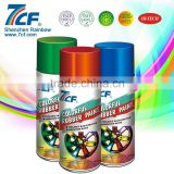 High Quality Shenzhen Rainbow Fine Chemical Brand 7CF Multi-purpose 400ml Acrylic Colorful Rubber Paint
