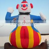 2015 hot sale Giant inflatable clown balloon for events F1027