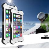 love mei aluminum waterproof case for iPhone 6 Plus, for iPhone 6 5.5 LOVE MEI Case Metal Gorilla Glass Cover