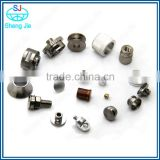OEM different types of precision creative special eccentric nut,customized cnc machining no head screw, grub screw with high qua