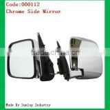 toyota body parts # 000112 Chrome Side mirror for Toyota Hiace door mirror rear view mirror for toyota hiace side mirror chrome