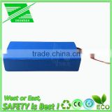 100% Real Factory CE ROHS 48 volt lithium battery pack 20000mah li ion battery with Charger
