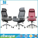 Foshan Factory wholesale office furniture ergonomic mesh office swivel chair with headrest