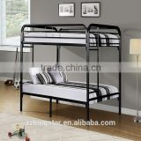 dormitory double decker metal bed rail metal bunk beds for kid and adult