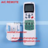 White Clamshell 19 Keys air conditioning remote control for LG Air-conditioner Korean print with stents