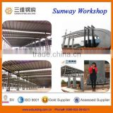 2015 sUNWAY prefabricated steel structure factory/workshop