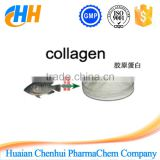 High purity cosmetic grade 100% Pure Fish Collagen powder