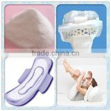 China wholesalers dissolve faster/cas no.9003-05-8 super absorbent polymer SAP for baby diaper and sanitary napkins