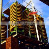 China best price sand separating mineral sand spiral chute