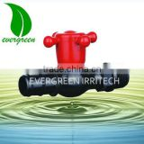 PVC straight water tap plastic drip Irrigation mini ball valve