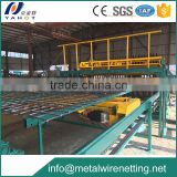 Roadway/railway/highway/bridge/garden/barrier/security/airport/prison fence mesh welding machin