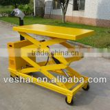 Stationary Scissor electric hydraulic lift table with CE 500KG VT-50-DC
