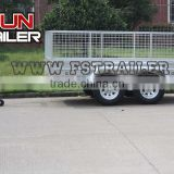 2016 Best selling fully weled tandem cage trailer 10x6/12x6