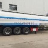 47.4m3 Aluminum alloy Oil / Fuel / Gasoline Road Tanker Semi Trailer