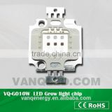 "VQ-G005R 2017 Hot Selling ""led chip"" 5W 620-640nm Red Grow Light Chip"