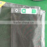 PVC coated safety mesh sheet with Japan FR label /fire resistant/fire retardant