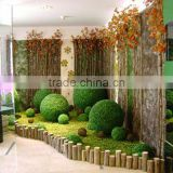 factory direct sale Grass ball Decorative Plastic artificial grass topiary