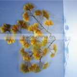 Home and outdoor garden table wedding christmas decoration 60cm or 2ft Height artificial colorfully ginkgo leaf E06 0677