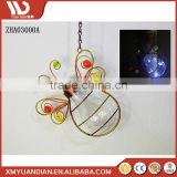 Resin Crafts Hanging Ornament Lantern Decoration Butterfly Ladybug Color Changing Led Handpainted Polyresin Hang Solar Light 20