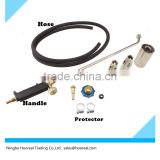 Propane Roofing Gas Tank Welding Torch with 2 Extra Nozzle Fire Starter Weed Heat Burner Ice Melter Snow Remove Paint