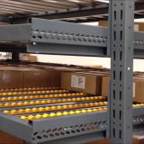 High Efficiency Carton Pallet Flow Storage Rack Shelves System