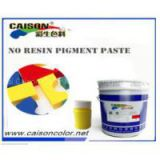 Light yellow water based pigment paste,water based acrylic binder for textile printing