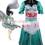 Rose-team Fantasia Anime Cosplay Lolita Dress Custom Made Madness Returns Alice Dress Cosplay Costume