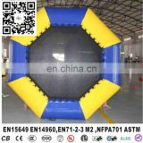 Water park slide combo, inflatable sea trampoline, inflatable water trampoline