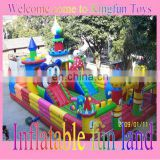 Mickey inflatable playground park/inflatable amusement fun city