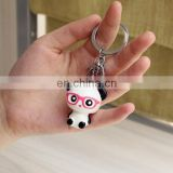 2017 ornaments resin panda key chain