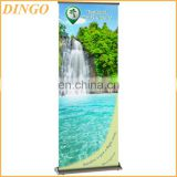 Indoor & outdoor advertising retractable roll up banner stand