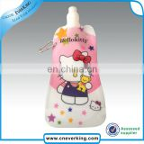 customize foldable water bottle