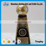 Golden football Memorial Resin decoration Wholesale of Arts and crafts Creative trophy