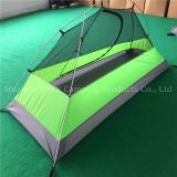 Single person ultralight camping tent