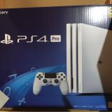 Game Console Glacier White HDD 1TB Japan Sony PlayStation4 PS4 Pro New