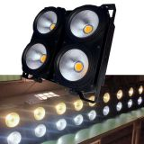 DMX 400W COB white led blinder led par light for stage,warm white led par audio light,cheap COB led light