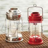 Brass T Light Candle Multicolor Decorative Lantern