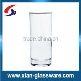 Promotional wholesale mechine blow clear drinking glass/water glass/glass cup/drinkware