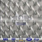 silver color coated fashion decorative metal wire mesh roller blind