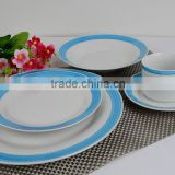 ceramic plate and salad bowls with glaze line grace square ceramic dinnerwarestoneware tableware with dishes plate