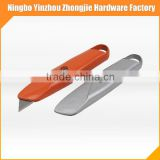 safety blade retractable aluminium alloy box cutter knife
