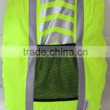 Hi vis water proof back pack bag cover supplier reflective