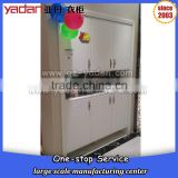 Wooden Tall storage cabinet custom made furniture,used in hotel,department,gym,school,store