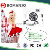 For Christmas decoration first choice rgb color led wedding lighting santa projector ropes party decoration multi coloured rice