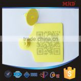 MDE122 Rfid laser animal ear tag for cattle two sizes for tracking bull and cow                                                                         Quality Choice