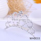 2015 New Design Round Rhinestone Cheap Full Pageant Crown Fashion Bridal Crown and Tiaras